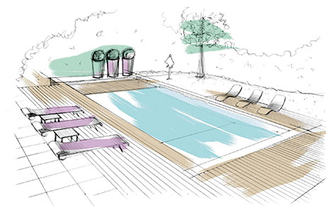 Outdoor Swimming Pool Design